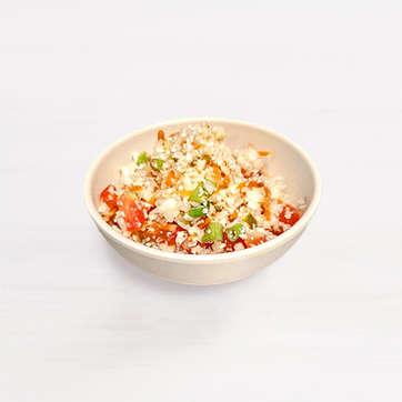 Keto-Friendly Cauliflower Rice