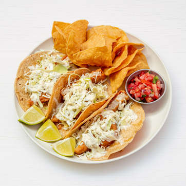 Tres 'Fish' Tacos