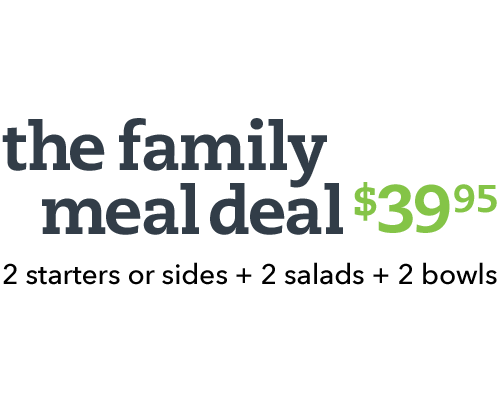 The Family Meal Deal