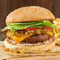 Burger menu items