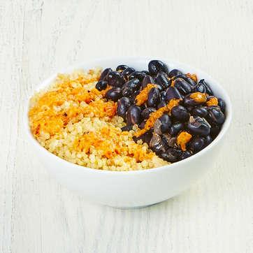 Black Beans + Quinoa Mini-Bowl