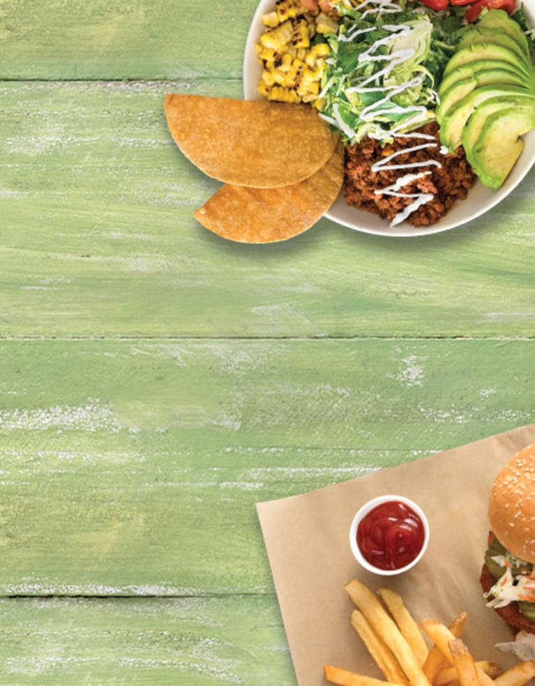 Veggie Grill Spring Menu Items