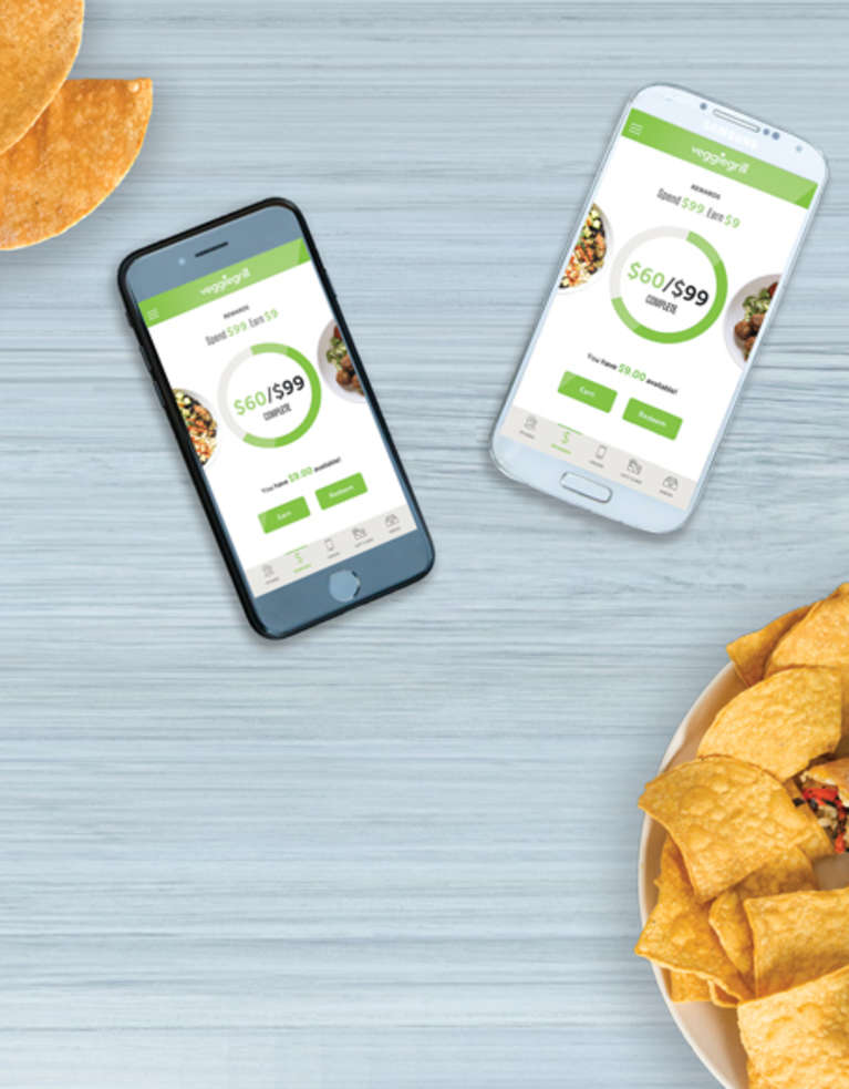 Veggie Grill Rewards App