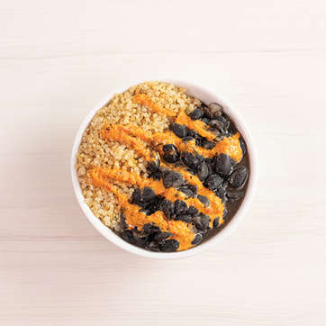 Black Beans + Quinoa Mini-Bowl