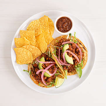 Barbacoa Tacos Combo